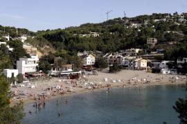 Aqualia avisa que el agua no es apta para el consumo en la zona de Cala Vedella