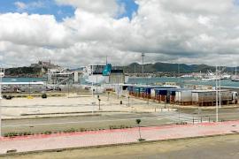 La huelga de estibadores arranca sin incidencia en Ibiza