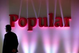 El Santander compra por un euro el Banco Popular