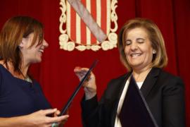 Fátima Báñez anuncia que se dotará a Baleares con 32 inspectores más contra el fraude