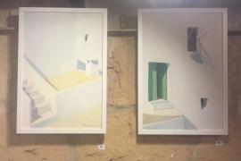 Exposición de Ferrer Guasch en la Galería Marta Torres (Fotos: A. Escandón)