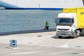 Mínima incidencia en el puerto de Ibiza en la segunda jornada de huelga de estibadores