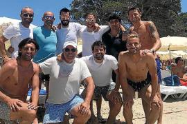 Los futbolistas de Primera División siguen llegando a ses Salines