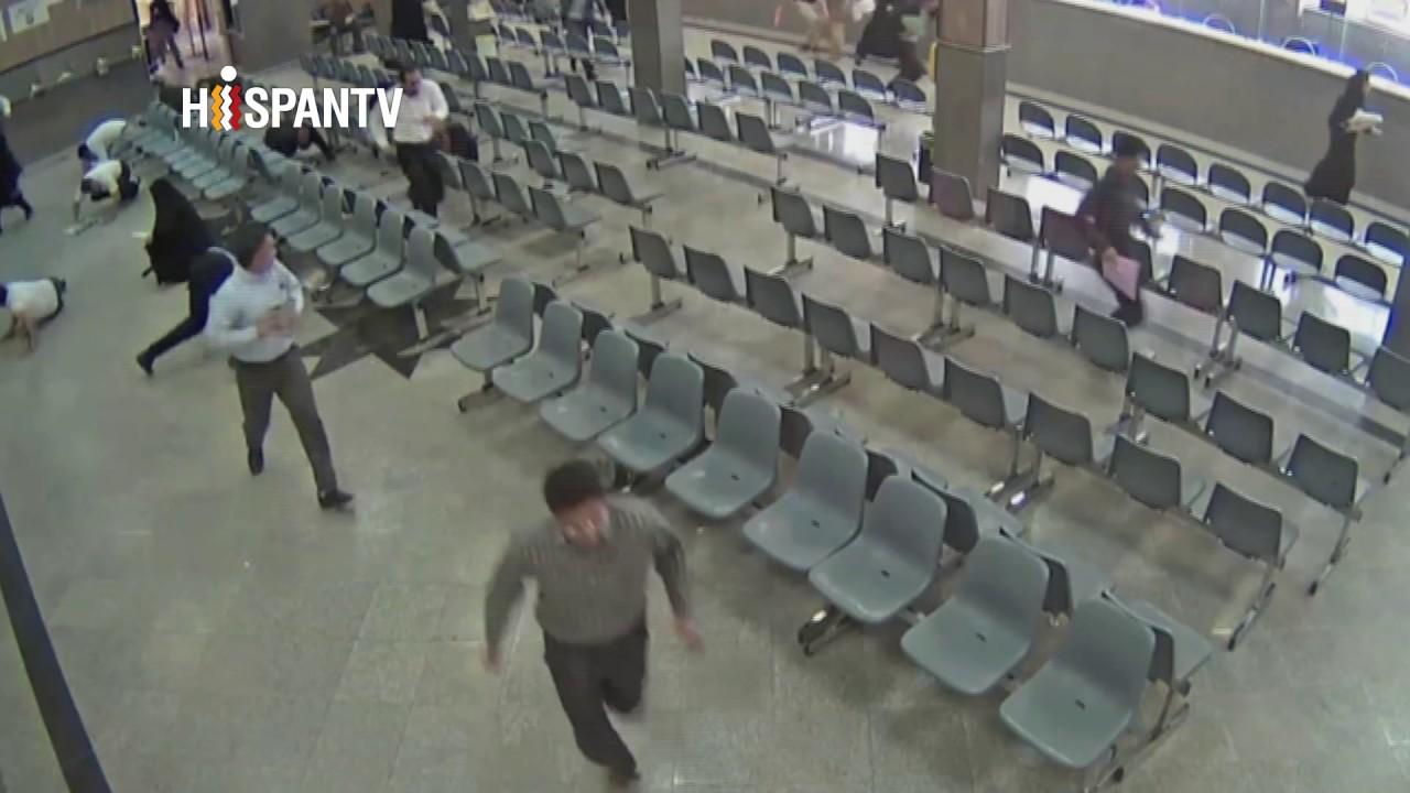 Difunden las imágenes del atentado en el Parlamento de Irán