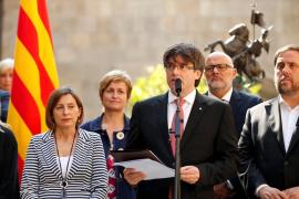 Puigdemont anuncia el referéndum en Cataluña para el 1 de octubre