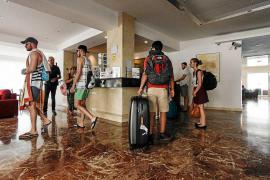 La ocupación hotelera en mayo cae un 2,4 %, hasta el 73,72 % en las Pitiusas