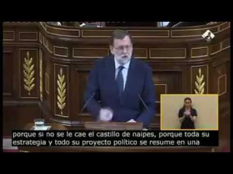 Rajoy se lía echando en cara a Iglesias su estrategia política