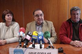 El PP critica la «irresponsabilidad» y la «pasividad» del Consell ante la crisis
