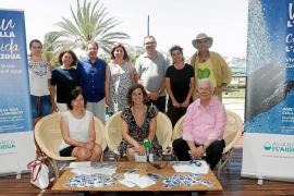 'Vive la isla, cuida el agua', un mensaje claro y conciso para impulsar el ahorro