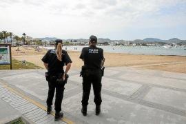 Detenido un menor en Sant Antoni por cometer un robo con violencia y llevar una pistola de aire comprimido