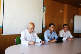 El hospital Can Misses acoge una reunión del Comité de seguimiento de la actividad asistencial
