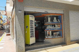 La Guardia Civil investiga el robo en una joyería en pleno centro de Sant Antoni