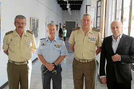 Exposición de obras del II Certamen de pintura de temática militar en el Centro de Historia y Cultura Militar