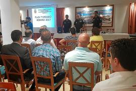 La Policía Nacional traslada a los hoteles de la isla las medidas de prevención contra los robos