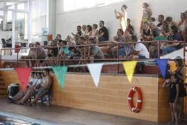 El Club Natación Eivissa, en favor de Cáritas