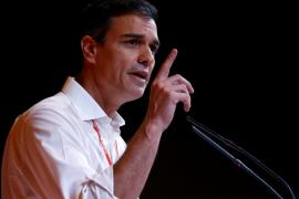 Sánchez afirma que trabajará por una mayoría para acabar con la «etapa negra» del PP