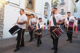 Celebración del Corpus Christi en la Catedral de Ibiza.