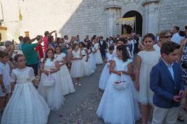 Nuevo éxito del Corpus Christi en la isla de Ibiza.