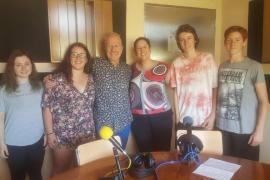 Armin Heinemann visita a los alumnos del IES Sant Agustí