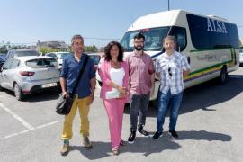 Nueva línea de autobús que conecta el centro de Vila con los aparcamientos disuasorios y Puig d'en Valls
