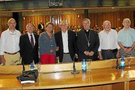 Gabriel Pérez Alzina presenta el libro 'Bartomeu Català, un projecte d'home de fe'