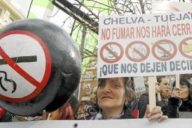 Más de 1.500 hosteleros piden la derogación de la ley antitabaco