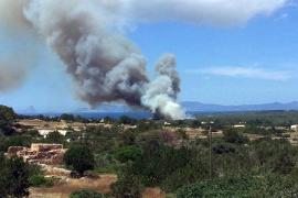 El Govern alerta a los municipios del riesgo muy alto de incendios forestales este fin de semana