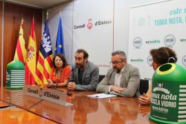 Más de 600 locales de Ibiza participan en una campaña sobre reciclaje de vidrio