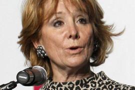 Esperanza Aguirre ha sido operada con éxito en el Hospital Clínico de Madrid