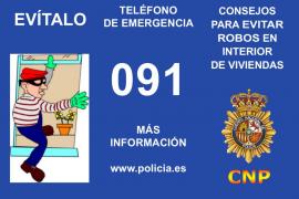 Diecisiete consejos de la Policía Nacional para evitar los robos en casa mientras se está de vacaciones