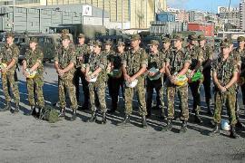 Sólo 148 personas se presentaron a las pruebas para soldado en Balears