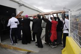 Fervor por la cruz de los jóvenes