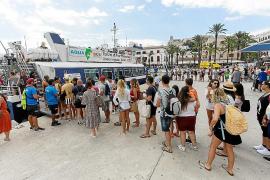 Un 75% de descuento para residentes que viajan desde Ibiza a Formentera