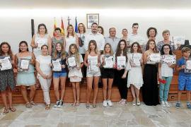 Premio al esfuerzo y a los mejores expedientes académicos de Sant Joan