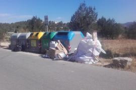 Sant Josep tramita 35 sanciones por vulnerar la Ordenanza de residuos