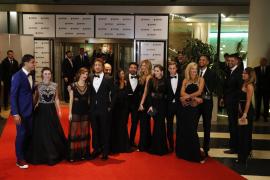 La alfombra roja de la boda de Lionel Messi y Antonella Rocuzzo