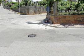 Cortes parciales del camino de Can Guasch por obras hídricas municipales y del Govern