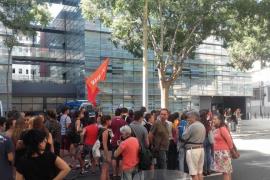 Detienen a un joven de Arran por la protesta en la sede del PP catalán
