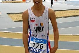 Matheus Moura, subcampeón de España cadete en los 600 metros