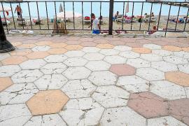Vila mantiene sus planes de reforma integral del paseo de ses Figueretes