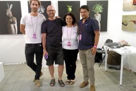 La galería P|ART y cinco artistas ibicencos, presentes en la Art Fair de Málaga