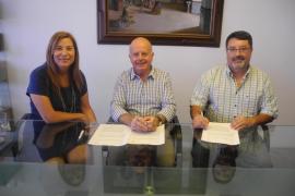 Sant Antoni aporta 2.500 euros para la Asociación de Donantes de Sangre