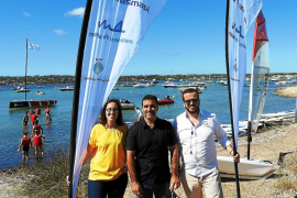 Trasmapi y Marina apuestan por la Escuela de Vela de Formentera