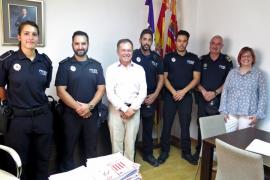 La Policía Local de Sant Josep refuerza su plantilla con cuatro nuevos agentes