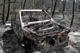 Hoy quedará extinguido el incendio de Cala Saona