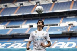 Jesús Vallejo ya viste de blanco