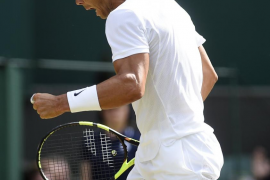 Nadal se deshace en 3 sets del joven Khachanov y se clasifica para los octavos de final de Wimbledon