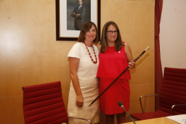 Susana Mora toma posesión de la presidencia del Consell Insular de Menorca