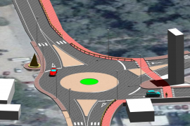 Santa Eulària incorporará un carril para bicicletas a la carretera de es Canar