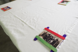 Celebración de los 100 años de un usuario de Sa Serra (Fotos: Marcelo Sastre)